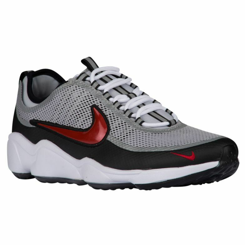 Men's Nike Zoom Spiridon Ultra Running Shoes, 876267 001 Size 11.5 SilverRed