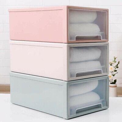 Kunststoff transparent Schublade Veranstalter Kleiderschrank Aufbewahrungsboxen