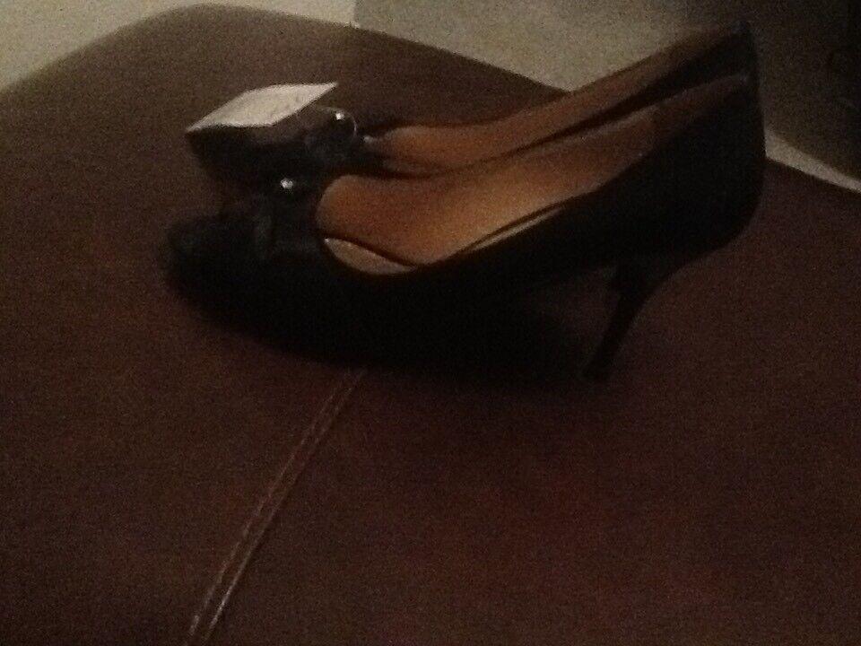 Men's/Women's bow womens black zaif diamond bow Men's/Women's heels superior auction German Outlets b56c35