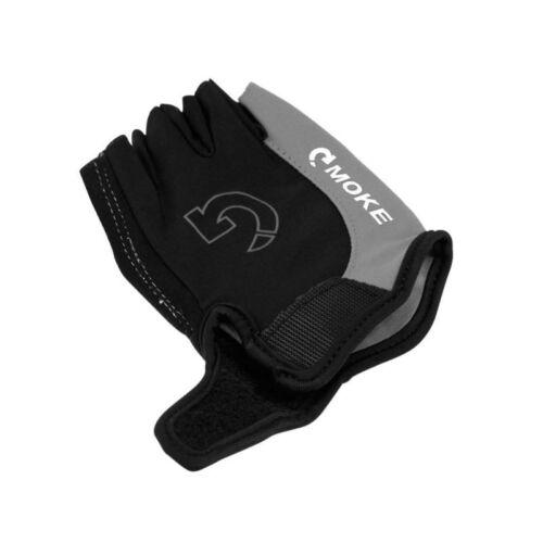 3 Colors Bike Cycling Gel Half Finger Gloves Short Finger Outdoor Sport Gloves