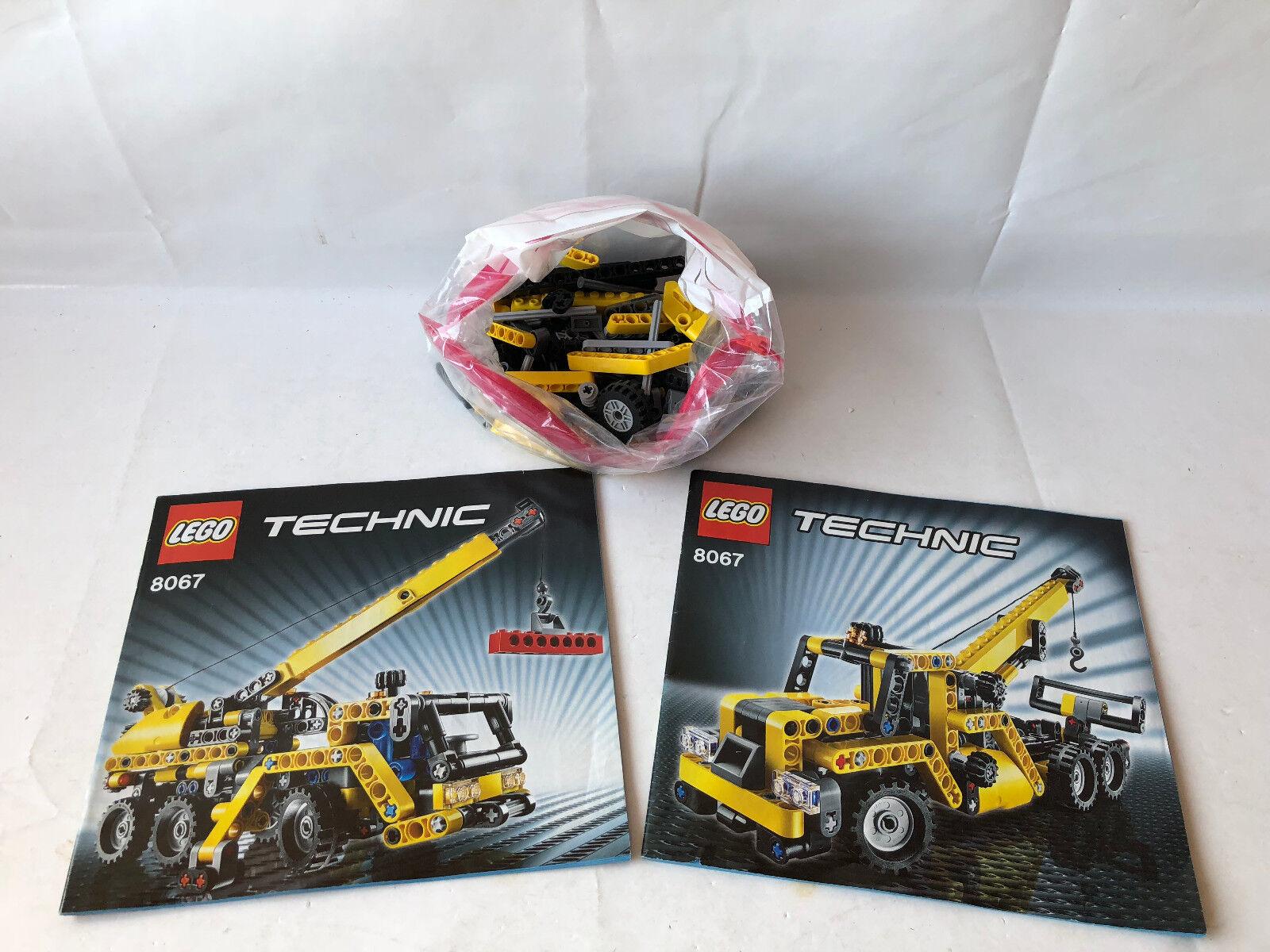 LEGO Technik Mobiler Mini-Kran - Set Set Set 8067 - Abschlepper - komplett & zerlegt 4a5d8e