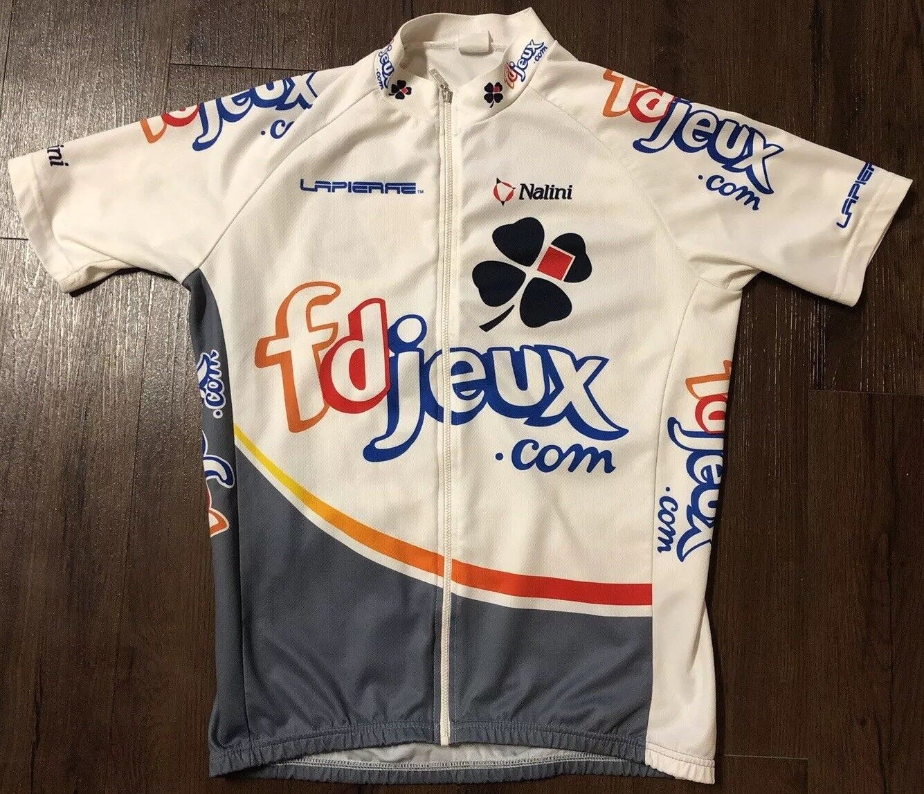 Nalini Fdjeux   Mens Cycling Jersey Large Bicycle Shirt Nice  large selection