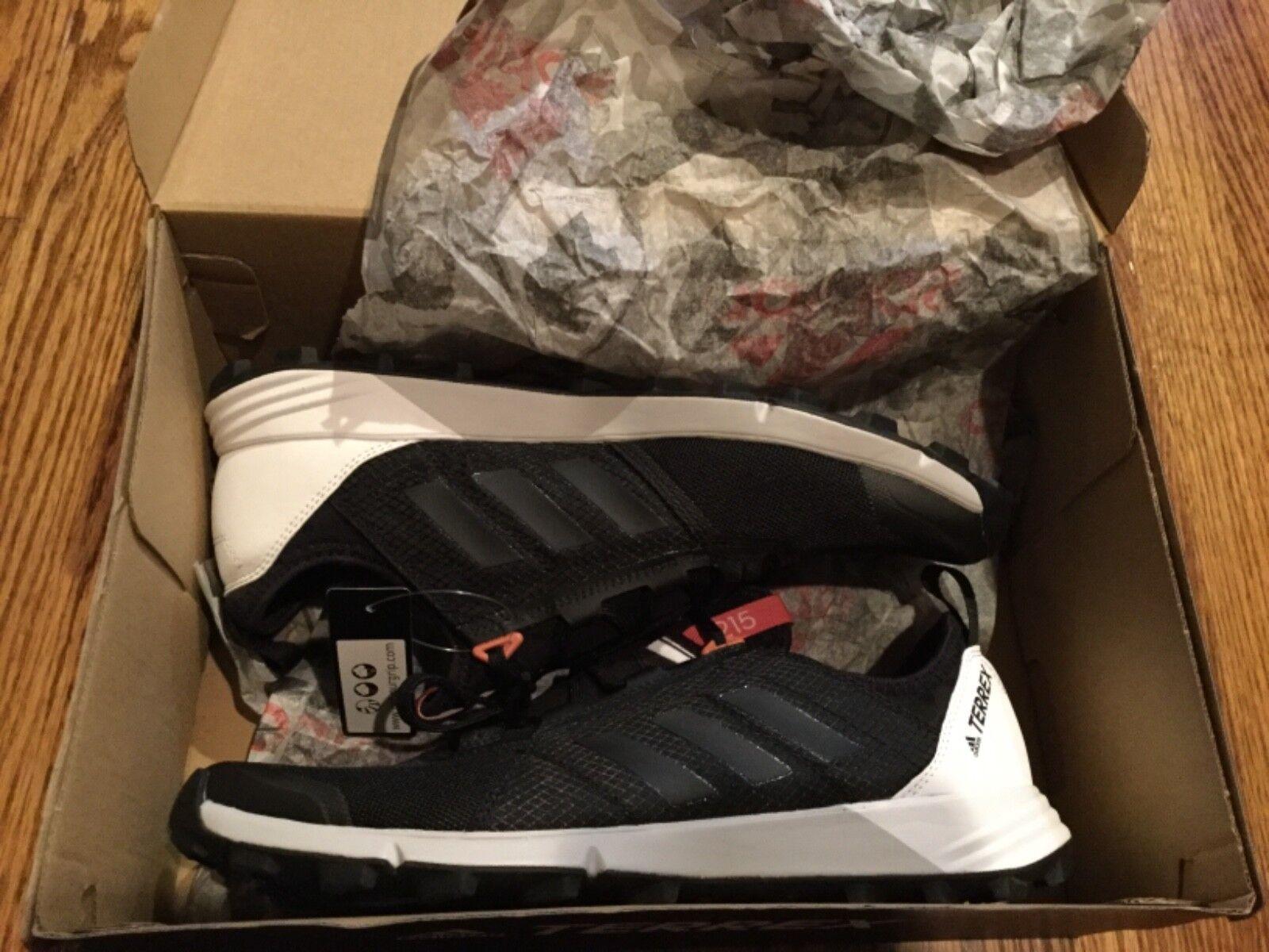 Adidas Terrex Agravic Speed W Trail Running Women's 10 Shoes Black Pink BB1960