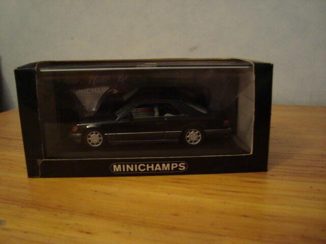 Mercedes e-klasse w124 coupé 1 43 mnichamps