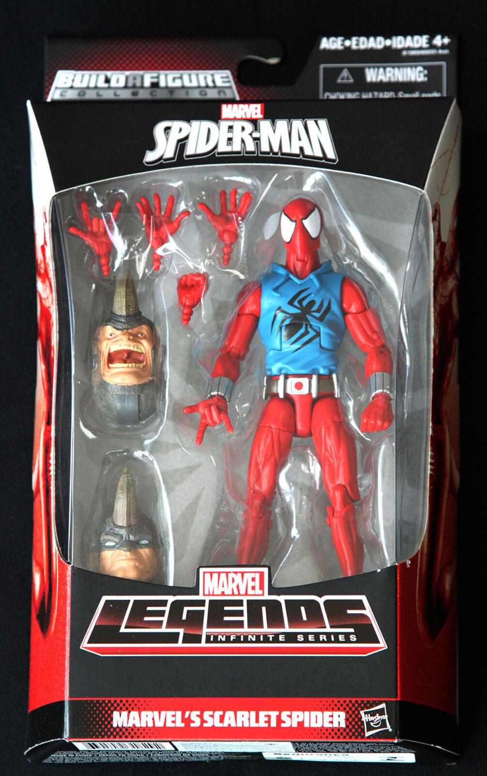 Scarlet spider marvel - legenden unendliche reihe spiderman - hasbro 6  action - figur