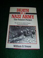 Death of a Nazi Army - Breuer - Stein & Day pub. 1985 - (BX22)