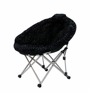 Image is loading Large-Moon-Chairs-Folding-Papasan-Dish-Chairs-Perfect-  sc 1 st  eBay & Large Moon Chairs; Folding Papasan Dish Chairs - Perfect for dorms ...