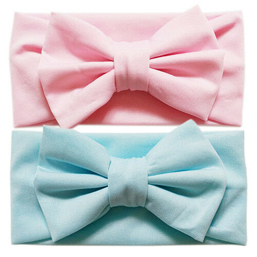 Cute Toddler Bow Headband Hair Band Accessories Headwear For Baby Kids G AC/_ FM