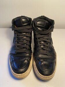 Stevenson Alboroto crecimiento  Rare Nike Air Royal Mid VT Team Black leather size 8 | eBay