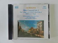 CD Albinoni Oboe Concerti Vol 2 Op 7 Nos 1 2 3 8 9 Op 9 No 6 Camden Alty