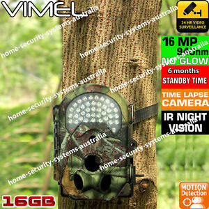 Home Security Camera 16GB Trail Scout Hunting Home Wireless System