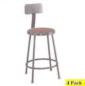 Fabulous Details About Brand New Bar Stools Nps Lab Stools 24 Inch Seat Height Bar Stools 4 Pack Onthecornerstone Fun Painted Chair Ideas Images Onthecornerstoneorg