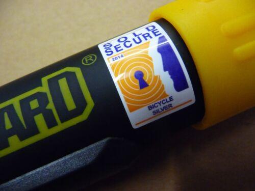 Serrure OnGuard 8010 Bulldog STD U-Lock Vendu Sécurisé Argenté />/>/> 8010 Key /</</<