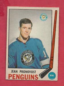 1969-70-OPC-155-PENGUINS-JEAN-PRONOVOST-NRMT-ROOKIE-CARD