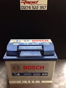car battery 027 12v maintenance bosch s4005 4 year gurantee heavy duty ebay. Black Bedroom Furniture Sets. Home Design Ideas