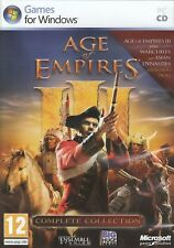 Age of Empires III 3 Complete Collection Includes Warchiefs Asian Dynasties PC