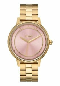 Nixon-Ladies-Kensington-Collection-Light-Pink-Dial-Gold-37mm-Watch-A099-2360