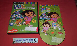 dora l exploratrice les animaux de la jungle
