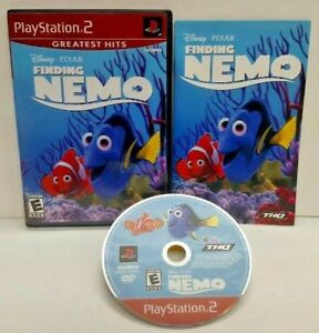 Finding Nemo Disney Pixar   - PS2 Playstation 2 COMPLETE Game 1 Owner Mint Disc