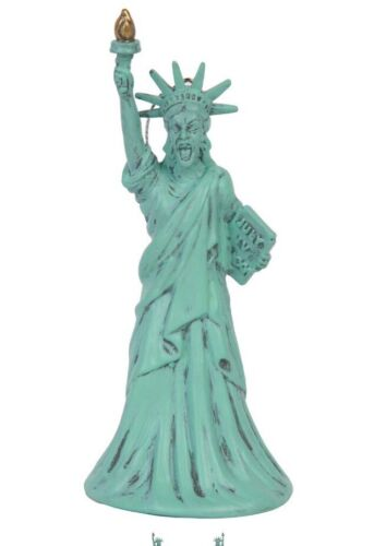 """Xmas Christmas Ornament NYC Doctor Who Statue Of Liberty Weeping Angel 4.5/"""" Dr"""
