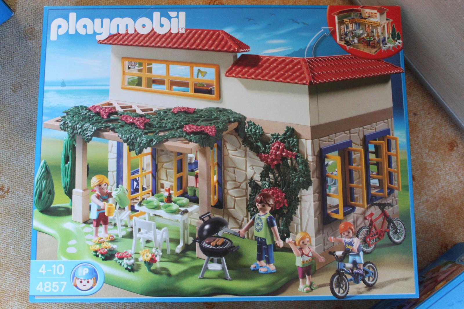 Playmobil Ferientraumhaus 4857 4858 4859 4860 4861 4864
