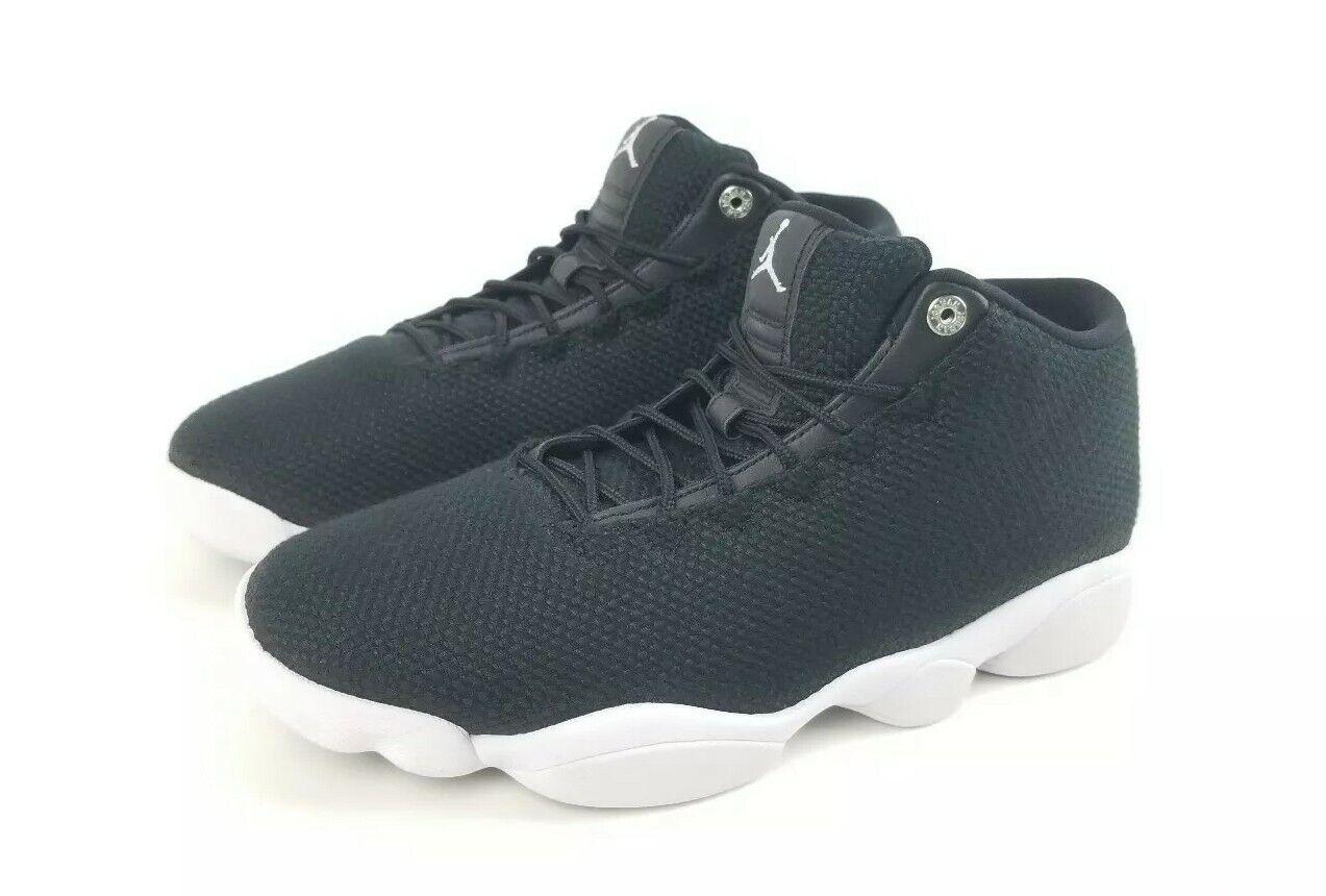 1638cf367e69 Nike Mens Jordan Horizon Low shoes shoes shoes Sneaker Black White 845098  006 New Size 11
