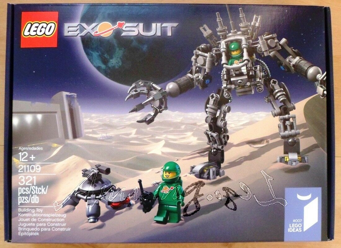 Discontinued Genuine New Lego ExoSuit 21109 Sealed MISB