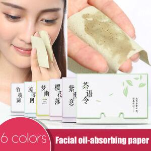 100Pcs/Pack Facial Absorbent Paper Farewell Oil Black Head Control Face Beauty