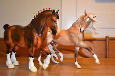 Breyer horse Esprit Glossy Lot Lionheart & Glossy Clydesdale HTF