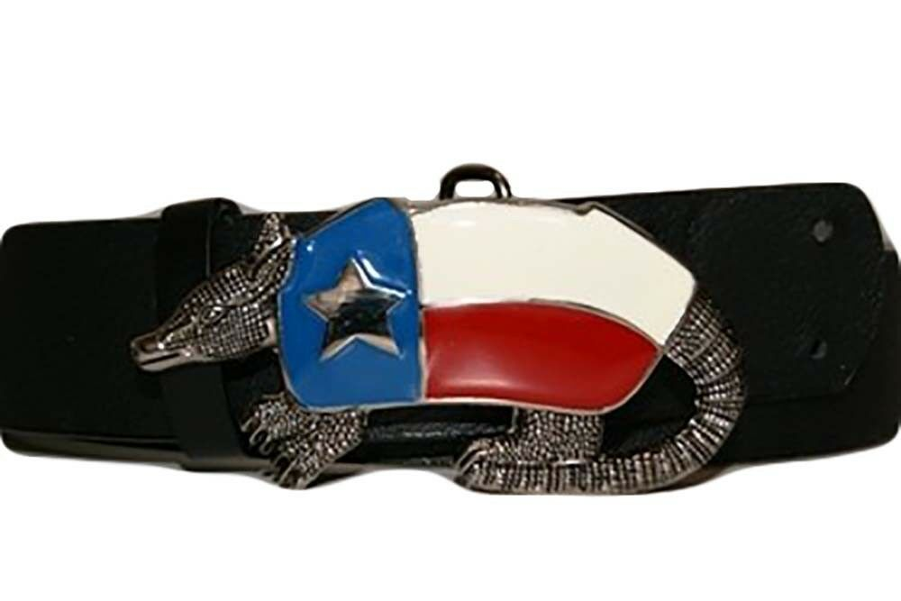 State of Texas Armadillo TX United States Metal Belt Buckle