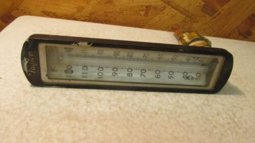 Antique Taylor BINOC Thermometer 120 degrees
