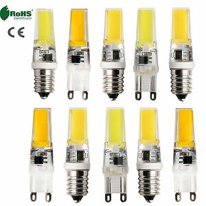 Dimmable-G9-E14-8W-10W-COB-LED-Bulb-Silicone-Crystal-Lights-Cool-Warm-White-Lamp
