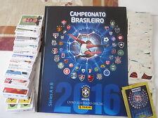 PANINI CAMPEONATO BRASILEIRO 2016  HARDCOVER ALBUM + LOOSE STICKERS + UPDATES