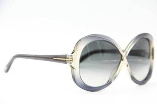 NEW TOM FORD TF 226 20B MARGOT CLEAR GRADIENT AUTHENTIC FRAMES SUNGLASSES 63-5