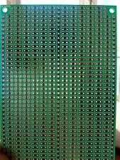 3x Stripboard Vero 10x7cm 2er joint hole Prototype Fiberglass circuit board pcb