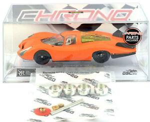 Src Porsche 907l Orange Mécanique Chrono Séries Circuit Routier Électrique