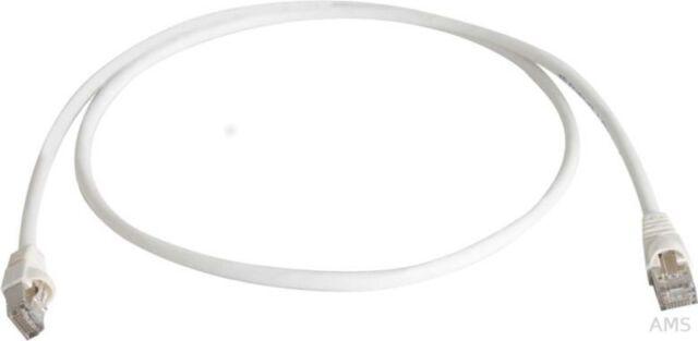 Telegärtner Patchkbl. S/FTP 6a Blanc Crème (Ws ) 5,0m 1x180grd Grd L00003A0085