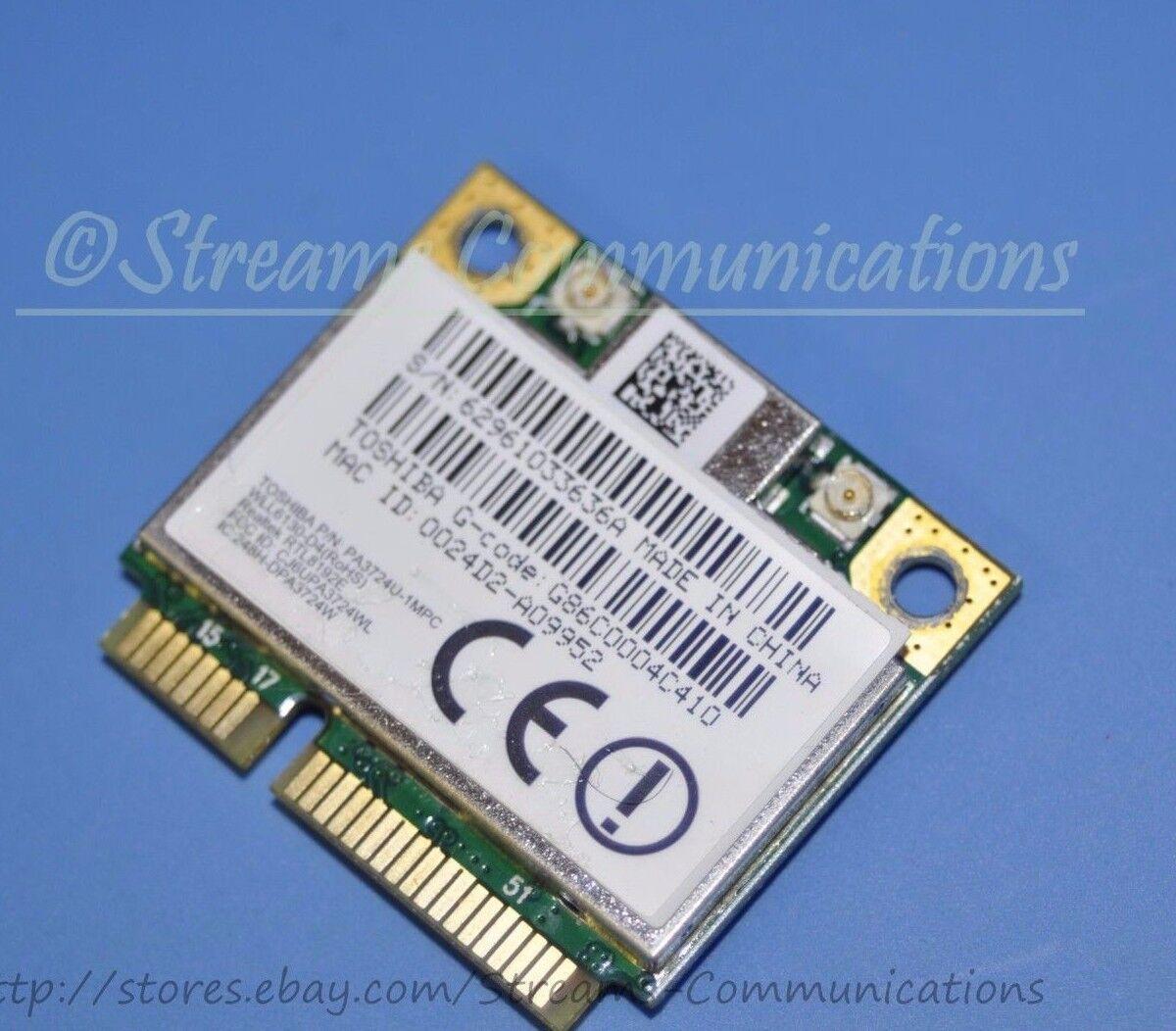 TOSHIBA Satellite L505-S5997 L505D-S5965 L505D-S5992 Laptop Wireless WiFi Card