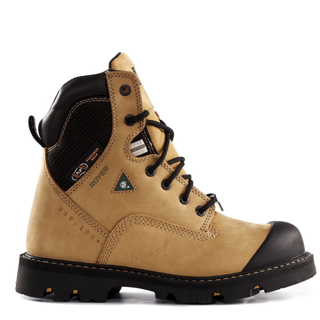 Royer Safety / Work Boots 10-8510 EEE 8 inches Bottes de Travail