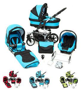 Image Is Loading Baby Pram Stroller Buggy Pushchair Zagma X6 3in1