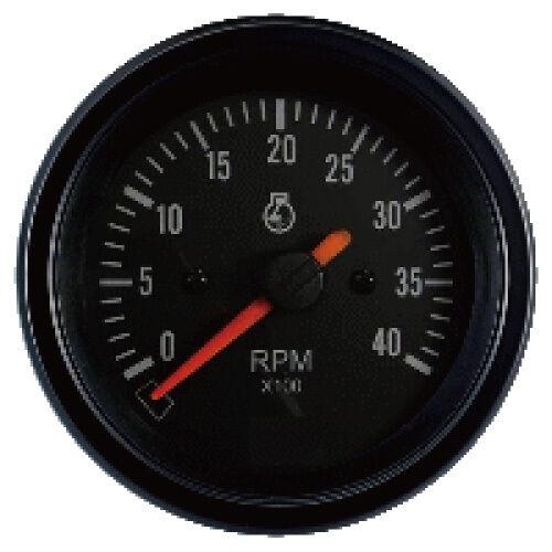 85mm auto gauge 0-4000 rpm Diesel Tachometer for marine yacht