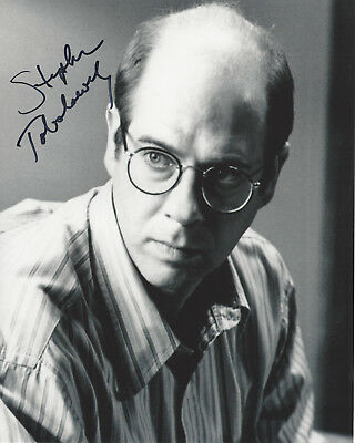 Nice Actor Stephen Tobolowsky Hand Signed Authentic 'memento' 8x10 Photo 2 W/coa 100% Guarantee Movies