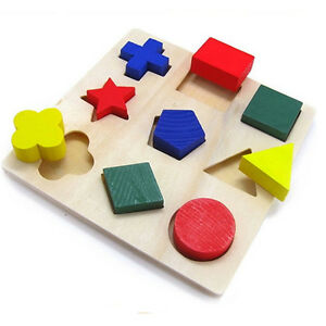Children-Baby-Educational-Wood-Puzzle-Shape-Classification-Early-Learning-Toys