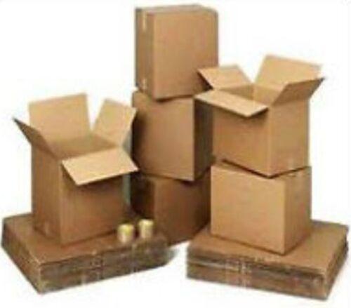 "20x15x15cm A4 Gift Postal Storage Packing S//Wall 50x Cardboard Boxes 8x6x6/"""