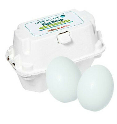 [Holika Holika] Egg Soap White 50g*2ea Pore Sebum Control Cleanser Skin Care