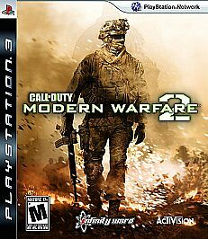 Call of Duty: Modern Warfare 2 PlayStation 3 PS3 Game With Manual Tested
