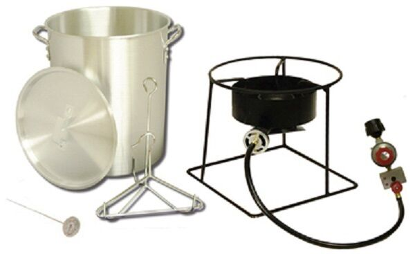 Metal Fusion Quart Propane (Lp Gas) Outdoor Turkey Fryer
