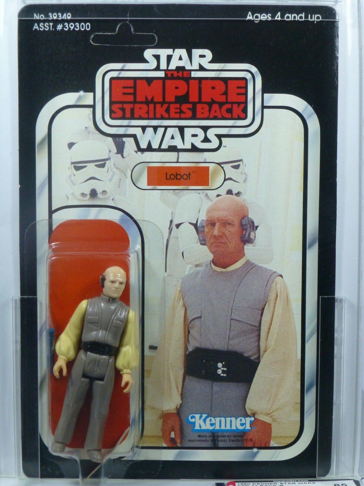 Star Wars Kenner ESB 41-B Lobot MOC AFA 85 Unpunched.