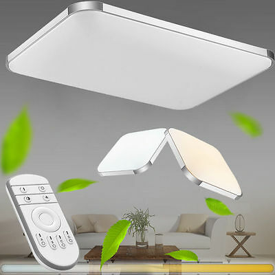 16W 36W 48W 64W 96W Modern LED Ceiling Lamp Dimmable Living Room Bedroom Lights