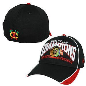 3273ecbc89967 Chicago Blackhawks Six Time Stanley Cup Champion Hat New Era (Black ...